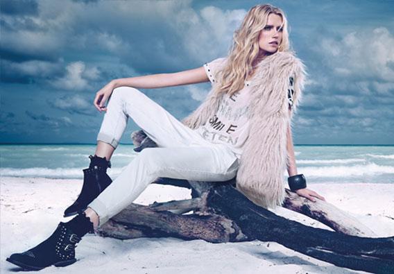 buy popular 2e11f 5d6fc Twin Set di Simona Barbieri: collezione jeans AI 2014-2015 ...